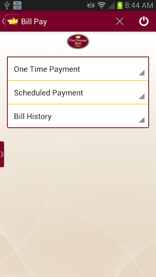 FNB Grayson Mobile Banking - screenshot