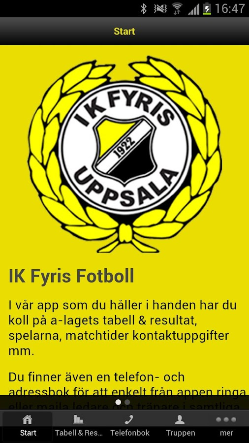 IK Fyris - screenshot