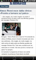 Screenshot of Il Secolo XIX RSS