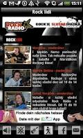 Screenshot of Rock Radio CZ