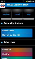 Next London Tube   Live Train Timetable