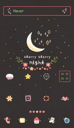 玩免費個人化APP|下載starry starry night 도돌런처 테마 app不用錢|硬是要APP