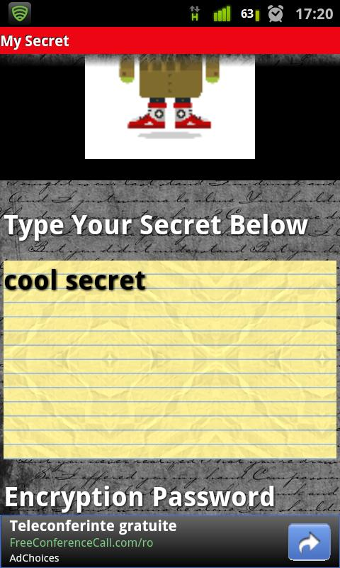 My Secret - screenshot