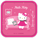 Hello Kitty Miss You Theme logo