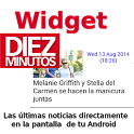 Widget de revista Diez Minutos icon