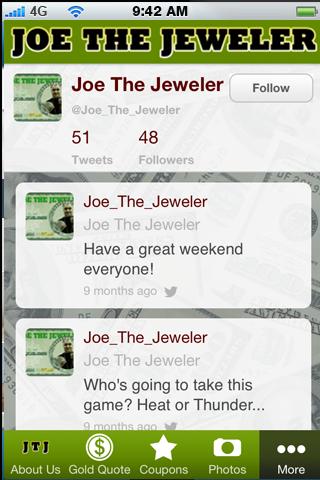Joe The Jeweler