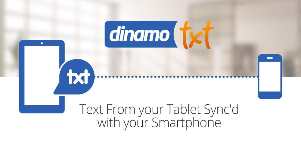 Tablet SMS Messaging Dinamotxt - screenshot