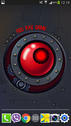 Red Ray Live Wallpaper