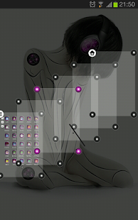 TSF Shell theme CyborggirlP HD - screenshot thumbnail