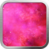 Pink Nebula Live Wallpaper