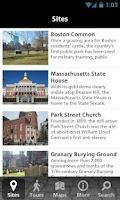 Screenshot of NPS Boston