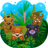 Jungle Cubs Game for Kids