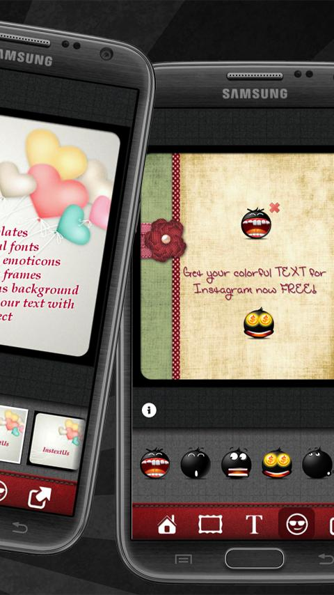 InstextUs - TEXT Instagram - screenshot
