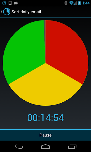 Activity Timer Holo Trial