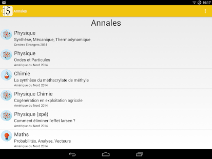 annales et cours bac s 2017 screenshot thumbnail - Resume Cours Science Bac Math