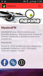 Maxima FM screenshot 4