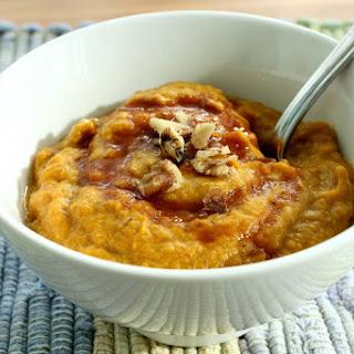 Almond and Pumpkin Breakfast Porridge (gluten free, grain free, vegan).