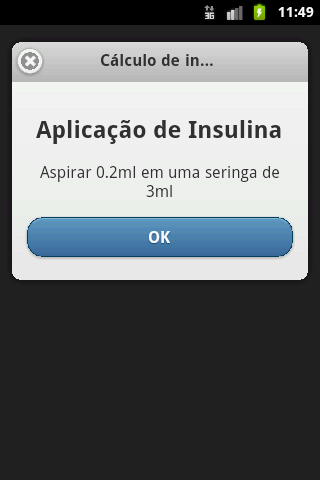 Cálculo de Insulina - Android Apps on Google Play