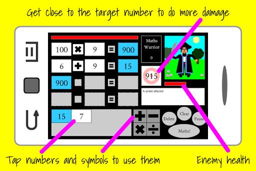 Maths Warrior 2.1 screenshots 2