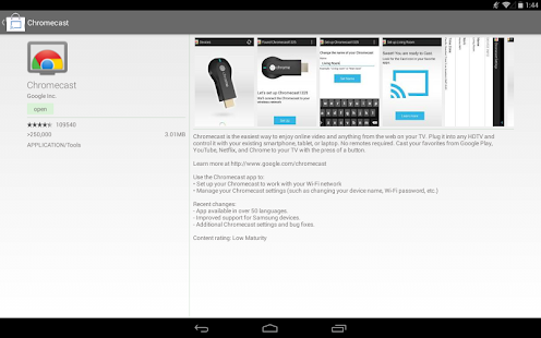 Cast Store for Chromecast Apps Screenshot 28