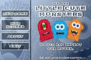 Screenshot of Little Cute Monsters