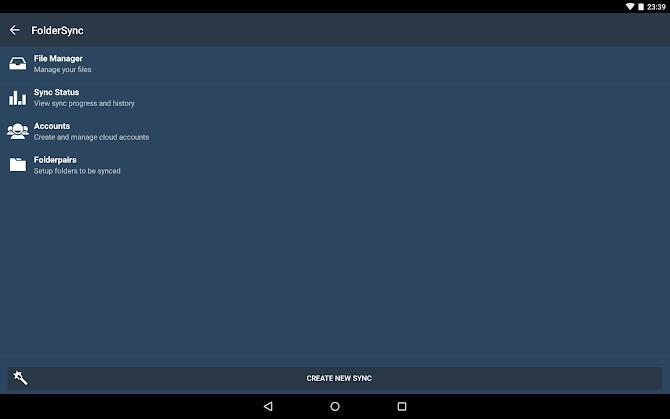 FolderSync Pro Android 9