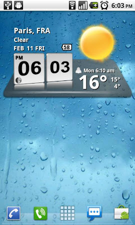3D Digital Weather Clock 4.2.4 screenshot 942