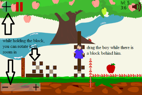 Pick the Apple - Block Physics - screenshot thumbnail