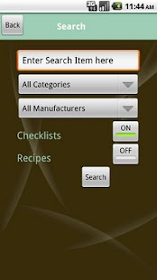 Gluten Free Checklist- screenshot thumbnail