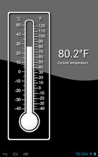Thermometer (+StatusBar +Wear) - screenshot thumbnail