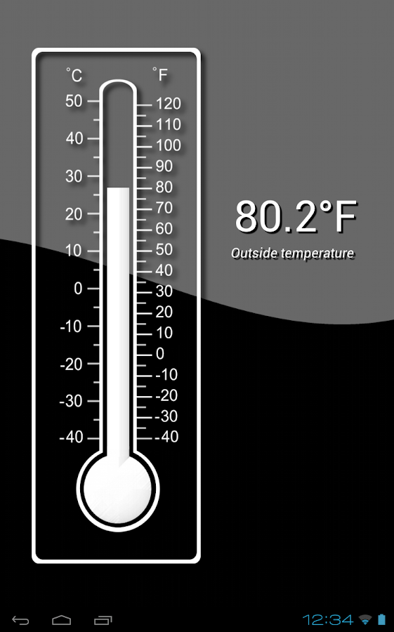 Thermometer (Free) - screenshot