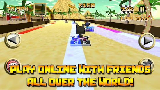 Kartoon Crazy Racing - screenshot