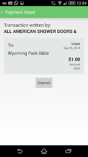 Mobile Checkbook- screenshot thumbnail