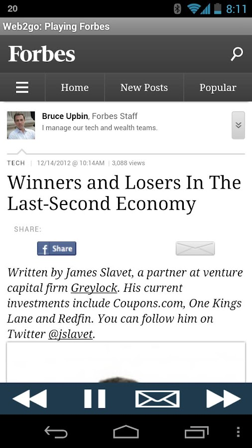 Forbes (Read Aloud to You) - screenshot
