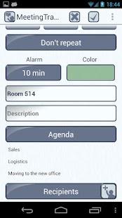Meeting Tracker - screenshot thumbnail