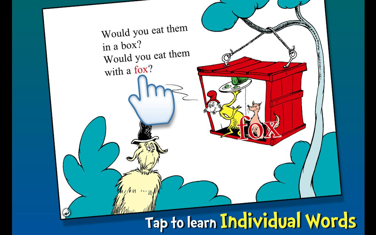 Green Eggs and Ham - Dr. Seuss Screenshot 2