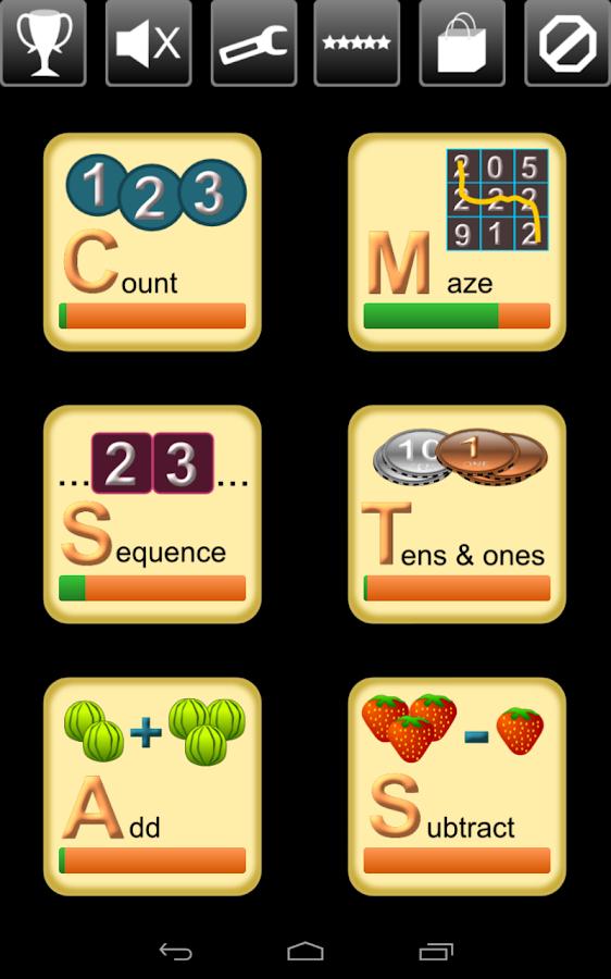 Kindergarten Kids Math Lite - screenshot