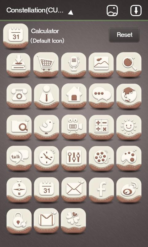X-Higan_GO Launcher Theme - screenshot