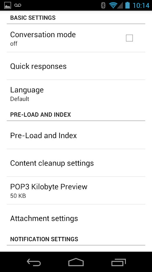 MailDroid Pro - screenshot