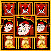 Pirate - 3 reel slots machine
