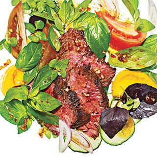Spicy Basil-Beef Salad