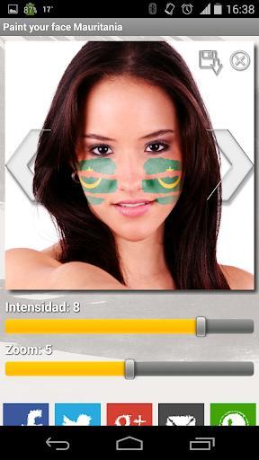 Paint your face Mauritania