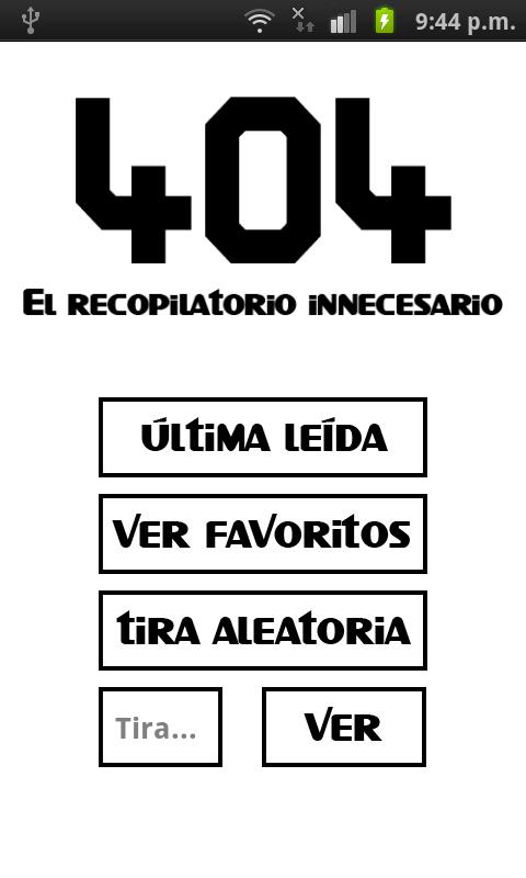 404, el recopilatorio - screenshot
