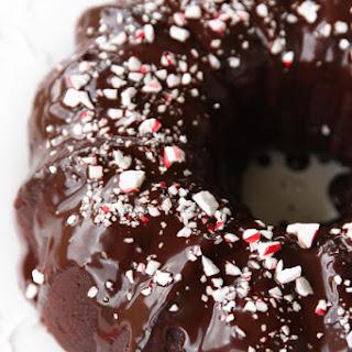 Chocolate Peppermint Bundt Cake.