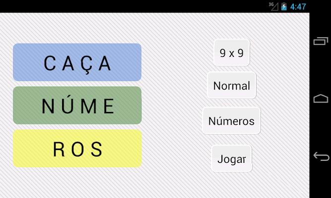 Caça Números - screenshot