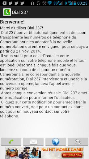 Dial 237 - Cameroun