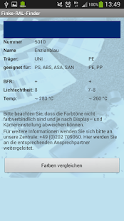 Finke-RAL-Finder – Miniaturansicht des Screenshots