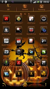 How to get Halloween 2 GO Launcher theme lastet apk for android