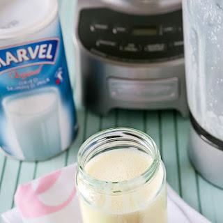 Homemade Sweetened Condensed Milk.