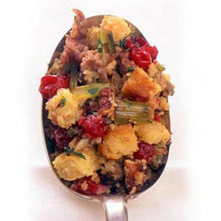 Sausage, Cranberry, and Corn Bread Stuffing